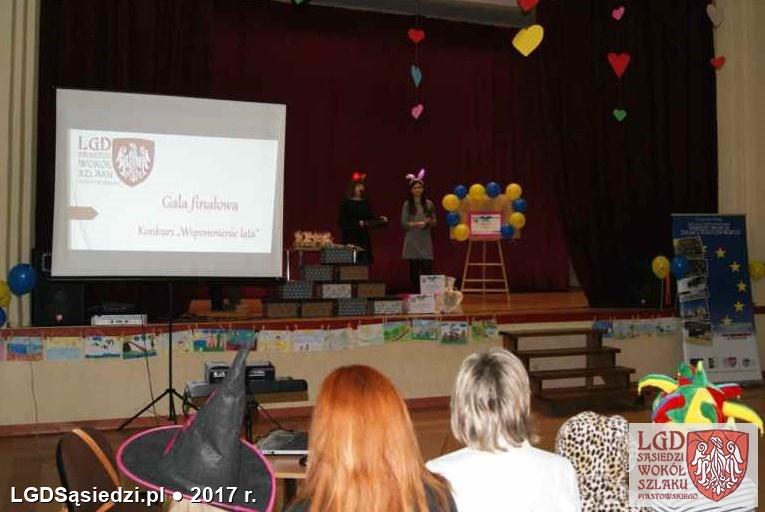 LGD Sąsiedzi - Nagrody przyznane - Konkurs Plastyczny pt. Wspomnienie Lata