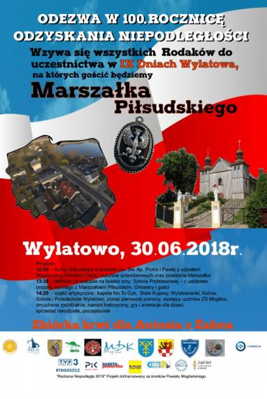 LGD Sąsiedzi - Zaproszenie na IX Dni Wylatowa