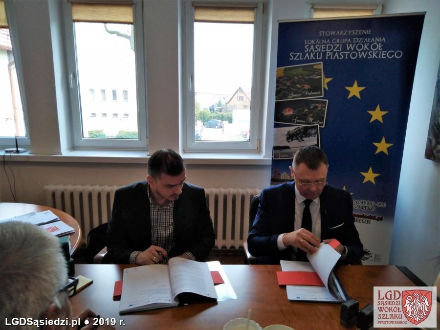 LGD Sąsiedzi - Umowy z grantobiorcami podpisane!