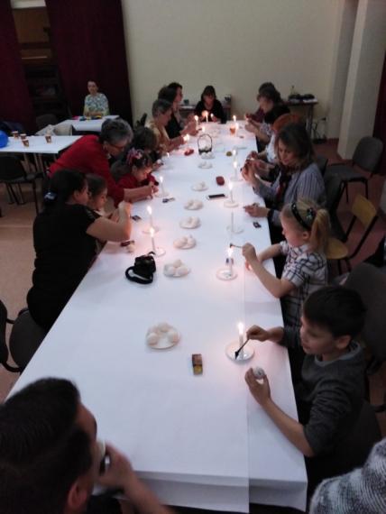 LGD Sąsiedzi - Aktywizacyjne rodzinne warsztaty tworzenia  ozdób wielkanocnych już za nami