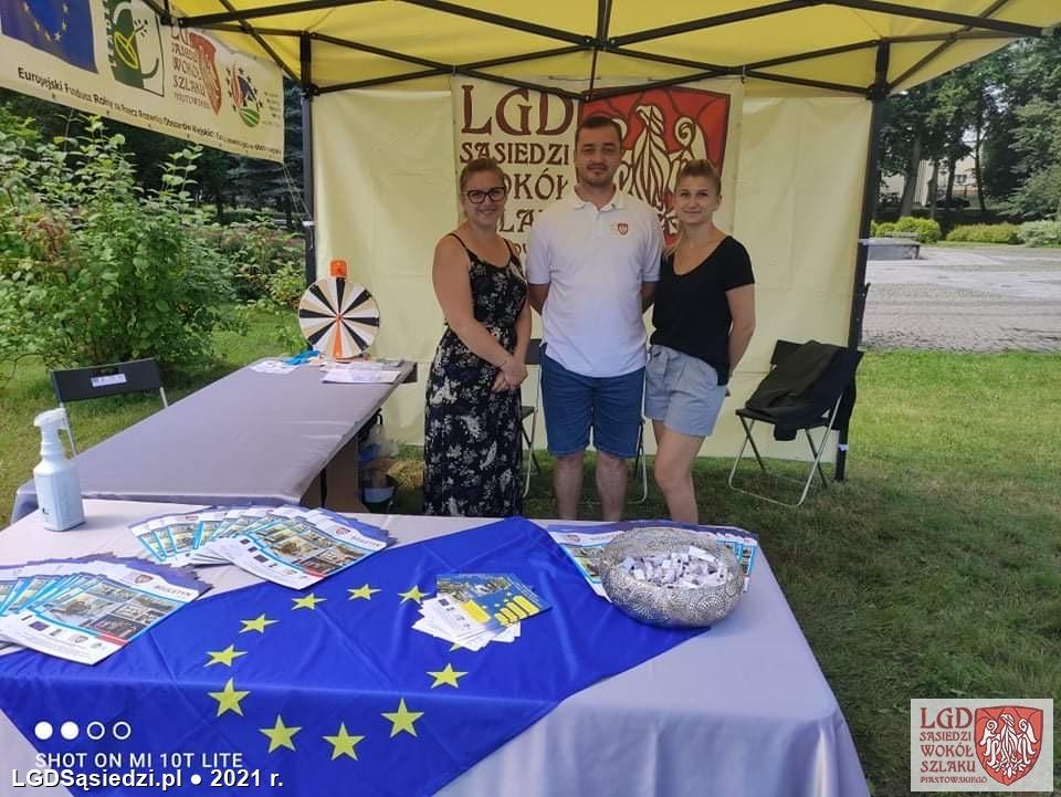 LGD Sąsiedzi - LGD na Targach Organizacji Pozarządowych Powiatu Mogileńskiego