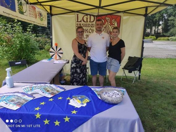 LGD na Targach Organizacji Pozarządowych Powiatu Mogileńskiego