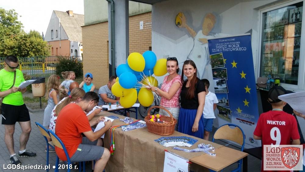 LGD Sąsiedzi - Stowarzyszenie LGD na Festynie rodzinnym zorganizowanym w ramach obchodów Dni Strzelna!
